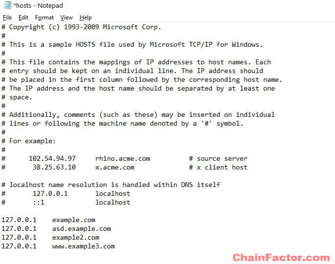 How to Block Websites on Windows 10 via Hosts File