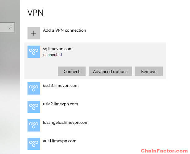 How to check if you're using any VPN connection